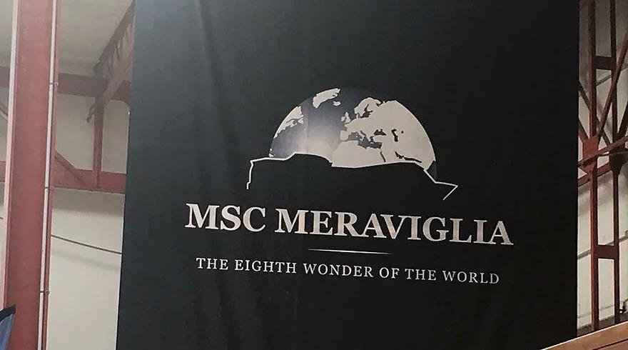 MSC MERAVIGLIA'S DUBLIN VISIT